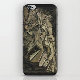 Marcel Duchamp - Nude Descending a Staircase, No. 2 iPhone Skin