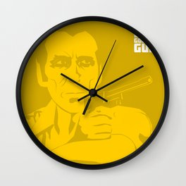 The Man With The Golden Gun Wall Clock