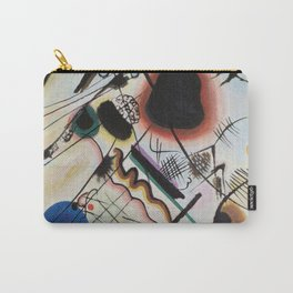 Wassily Kandinsky - Black spot Carry-All Pouch