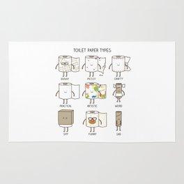 toilet paper types Rug