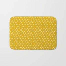 Yellow Modernist Bath Mat