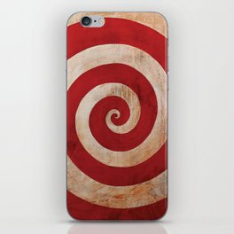 Sideshow Carnival Spiral iPhone Skin