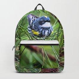 Yellow Rumped Warbler Backpack