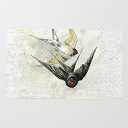 Vintage Soaring Birds Rug