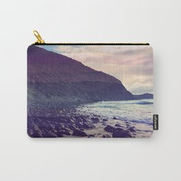 Watercolor Beach Front Carry-All Pouch
