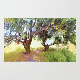 Wishing Tree on Tara Hill Rug