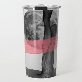 Line and curve Travel Mug