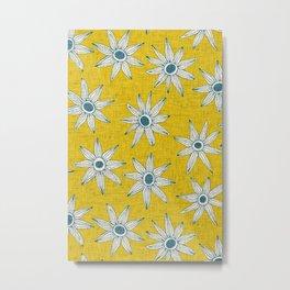 sema yellow blue Metal Print