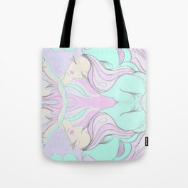 I like to day dream while I Yoga Tote Bag