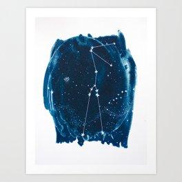 Taurus Zodiac Print Art Print