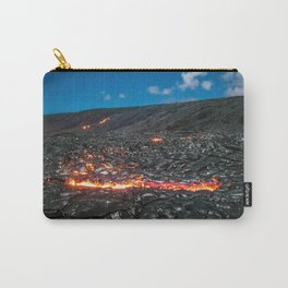 Lava field Carry-All Pouch