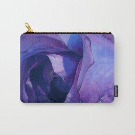 Floribunda Rose - Electric Purple Carry-All Pouch