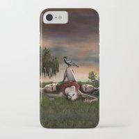 the vampire diaries iPhone & iPod Cases featuring Vampire Diaries by Brigitta