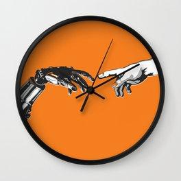 Creation 2.0 Classic Art Reimagined AI Sci Fi Print Wall Clock
