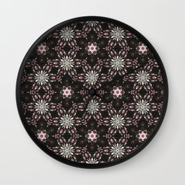 Floral Composition Wall Clock