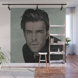 ZACHARY QUINTO. Wall Mural
