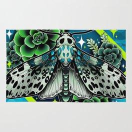 Leopard Moth Rug