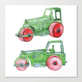 Old Steamroller Joe Canvas Print