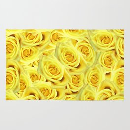 Candlelight Roses Rug
