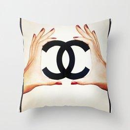 cha hands Throw Pillow
