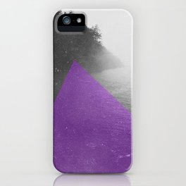 NEON NATURE   Purple iPhone Case