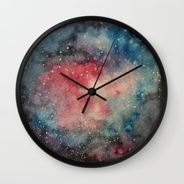 A Piece of Outer Space Wall Clock