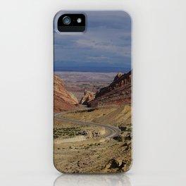 Winding Roads iPhone Case