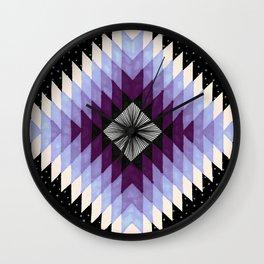 Cosmic Eye - Peach/Plum Wall Clock