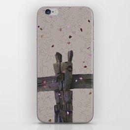 RusticTerrazzo Totem iPhone Skin