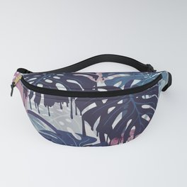 Monstera Melt Fanny Pack