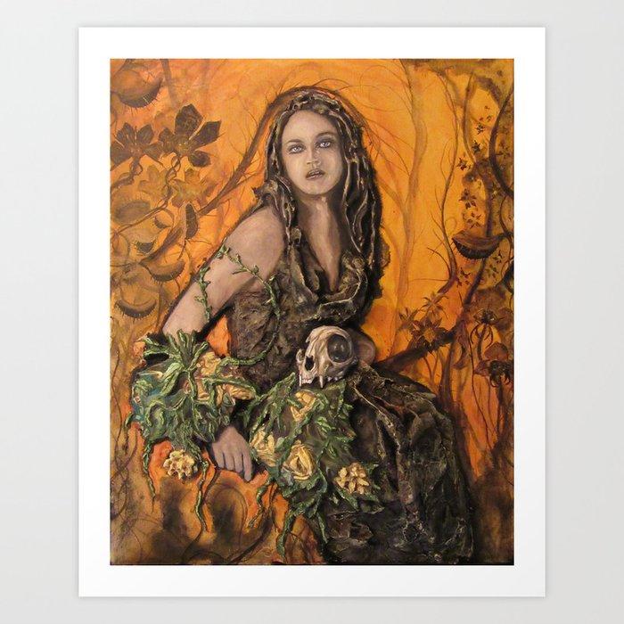 Garden of Secrets Art Print