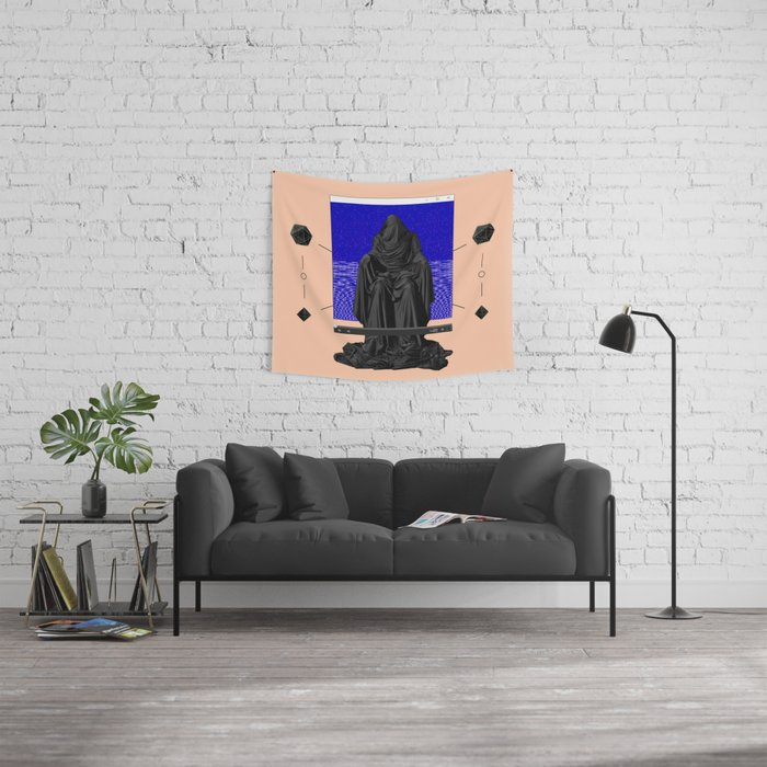 The Call II: 片思い Wall Tapestry