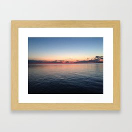 Until next time Framed Art Print