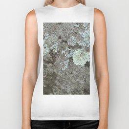 Lichen on granite Biker Tank