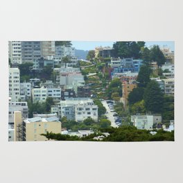 Lombard Street, San Francisco Rug