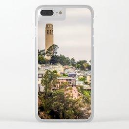 Telegraph Hill Clear iPhone Case
