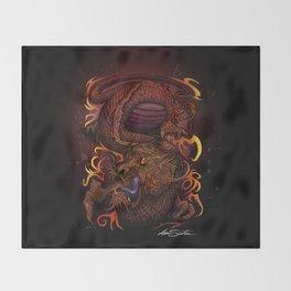 Dragon (Signature Design) Throw Blanket