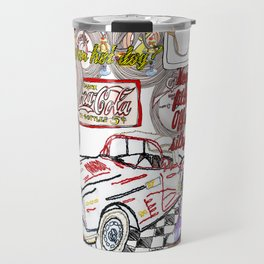 Keep your filthy paws of my silky draws Travel Mug