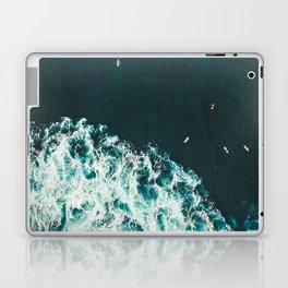 WAVES - OCEAN - SEA - WATER - COAST - PHOTOGRAPHY Laptop & iPad Skin