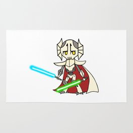 General Grievous kid artwork Rug