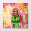 Pop Art Zombie Beauty by bigtexfunkadelic