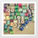 Cotton Reels by cassiabeck