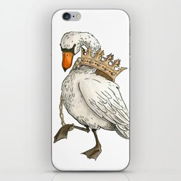 Dunstable Swan iPhone Skin