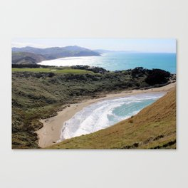 Castle Point, New Zealand Canvas Print