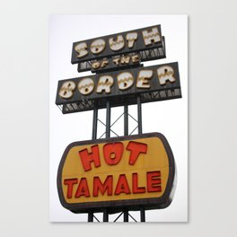 South of the Border: Hot Tamale Canvas Print