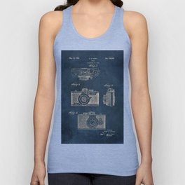 Cazin Camera patent art Unisex Tank Top