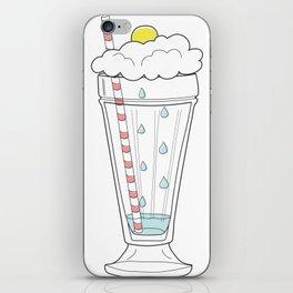 Stormy Milkshake iPhone Skin