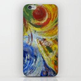 """""""Las cuatro estaciones"""" iPhone Skin"""