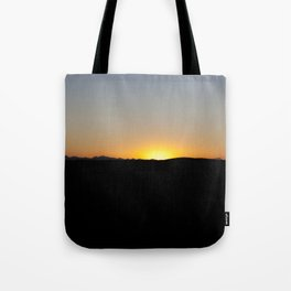 the sun will come out tomorrow Tote Bag