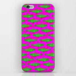 Bright Fish Pattern iPhone Skin